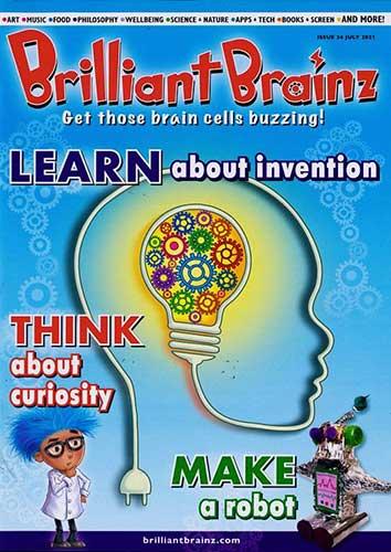 Brilliant Brainz - magazine for kids