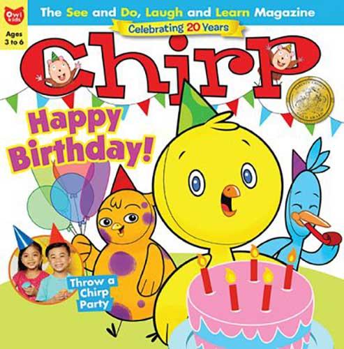 Chirp magazine for children under 5