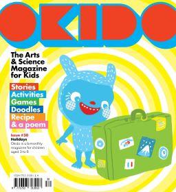 Okido magazine for kids aged 3-5