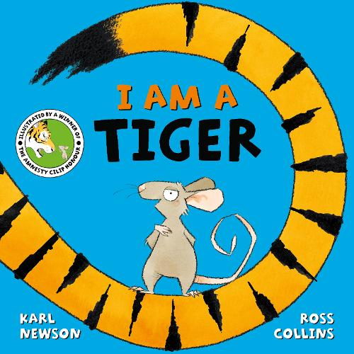 I am a Tiger by Karl Newson - a great book for reception emerging readers