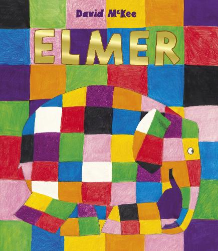Elmer by David McKee a classic book for reception storytime